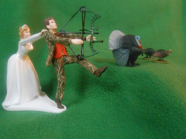 turkey hunter wedding cake topper 25 best ideas about camo wedding cakes on 21294