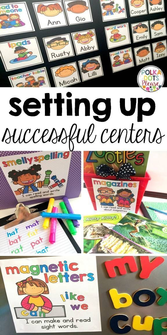 Tips and tools to set up successful reading centers or Daily 5 in your classroom. It's easy to get started!