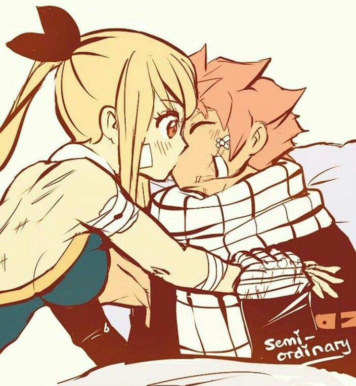 Lucy Heartfilia and Natsu Dragneel || Fairy Tail