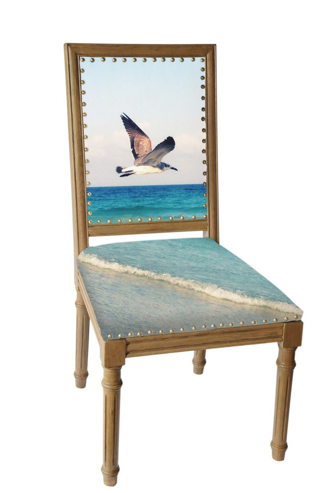 Flying Bird Art Chair SAMPLE SALE