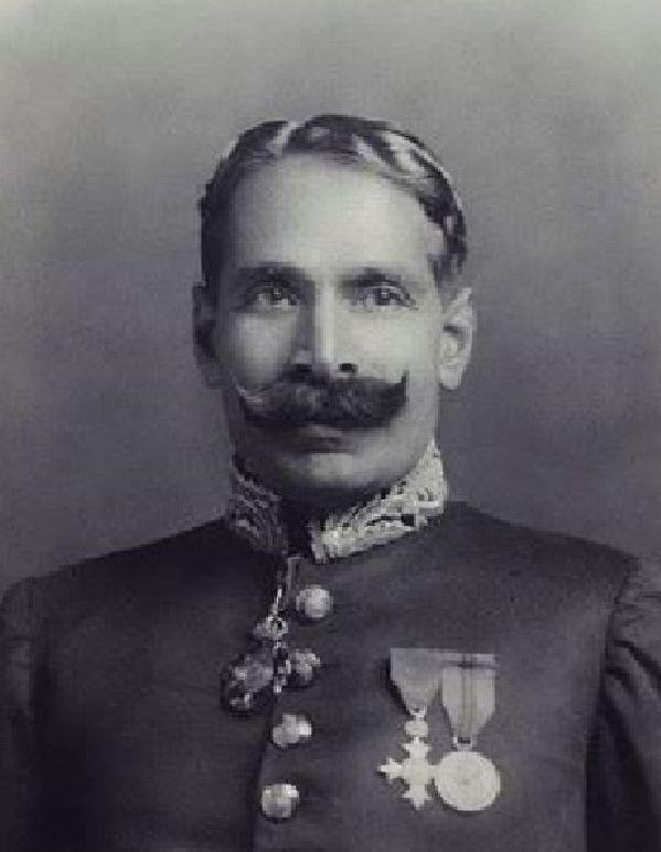 Picture of NAWAB OF CHHATARI Muhammad Ahmad Saeed Khan . (1888-1982) By Rohit Sonkiya