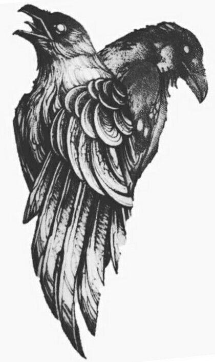 Raven Viking Tattoo: Viking Tattoos