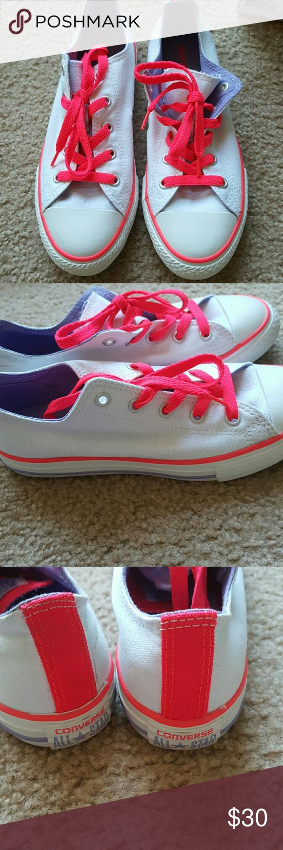 Kid's Converse Brand new Converse for kids. Size 3 Converse Shoes Sneakers