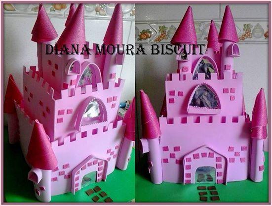 Castelo Princesas em eva