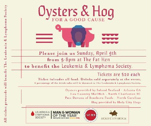 Welcome to Oysters & Hog For a Good Cause's MWOY Fundraising Page!