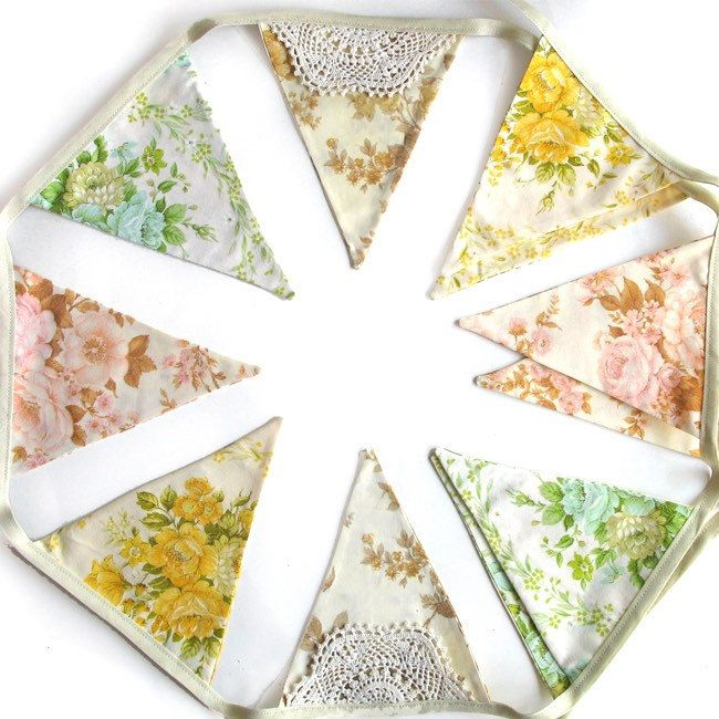101 Best Images About My Vintage Bunting