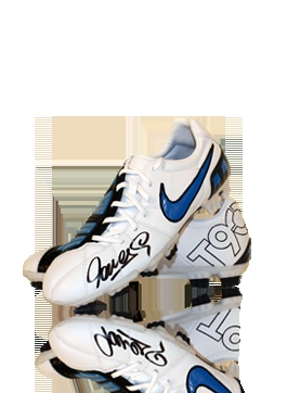 Fernando Torres Signed Nike Total 90 Football Boot