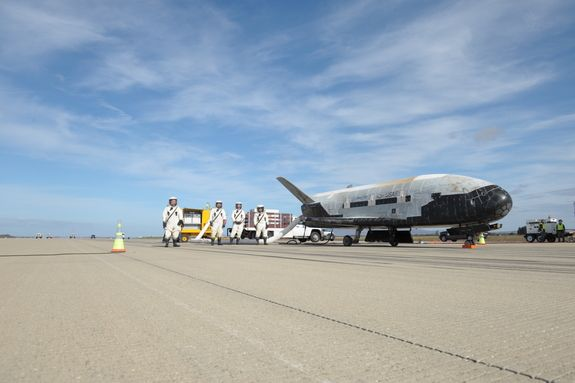 Photos: Secretive X-37B Space Plane's 3rd Mission for the US Air Force