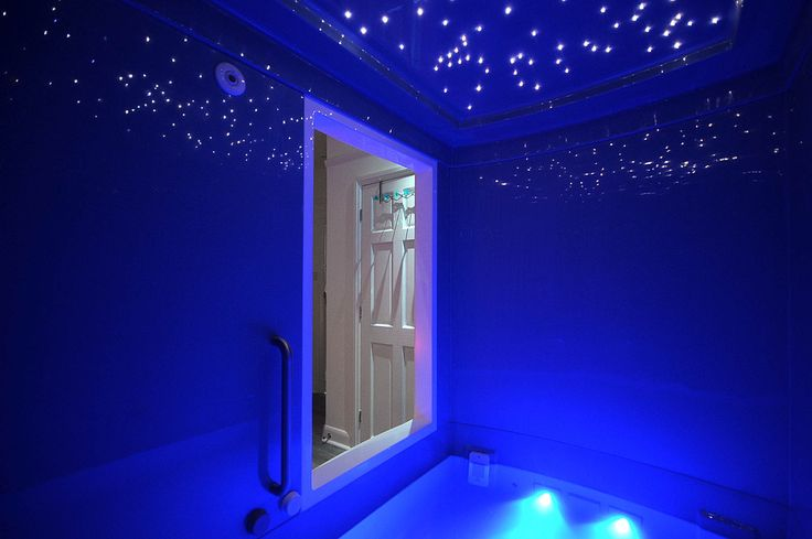 Float Rooms seen here with Starlight Ceiling upgrade