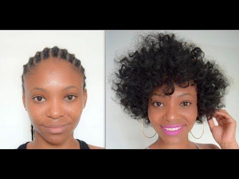 Crochet Braids * Recycle your cornrows - YouTube