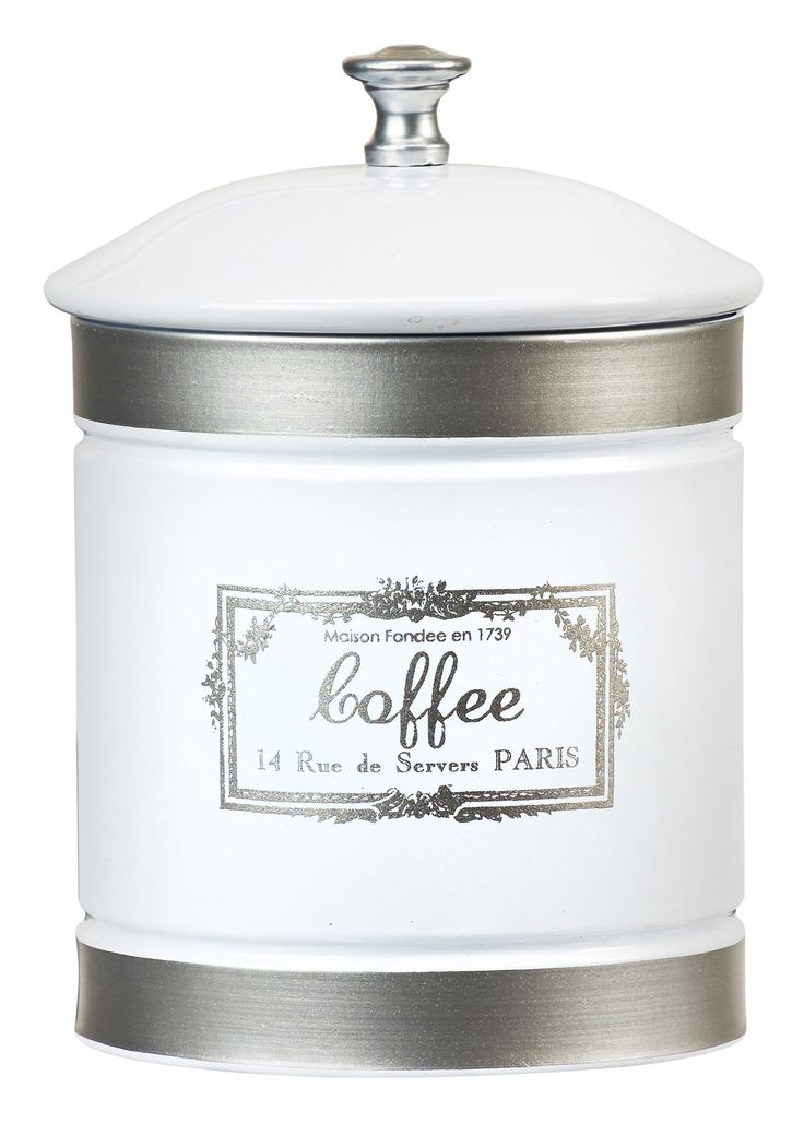 Country Farmhouse 36 oz. Metal Coffee Canister