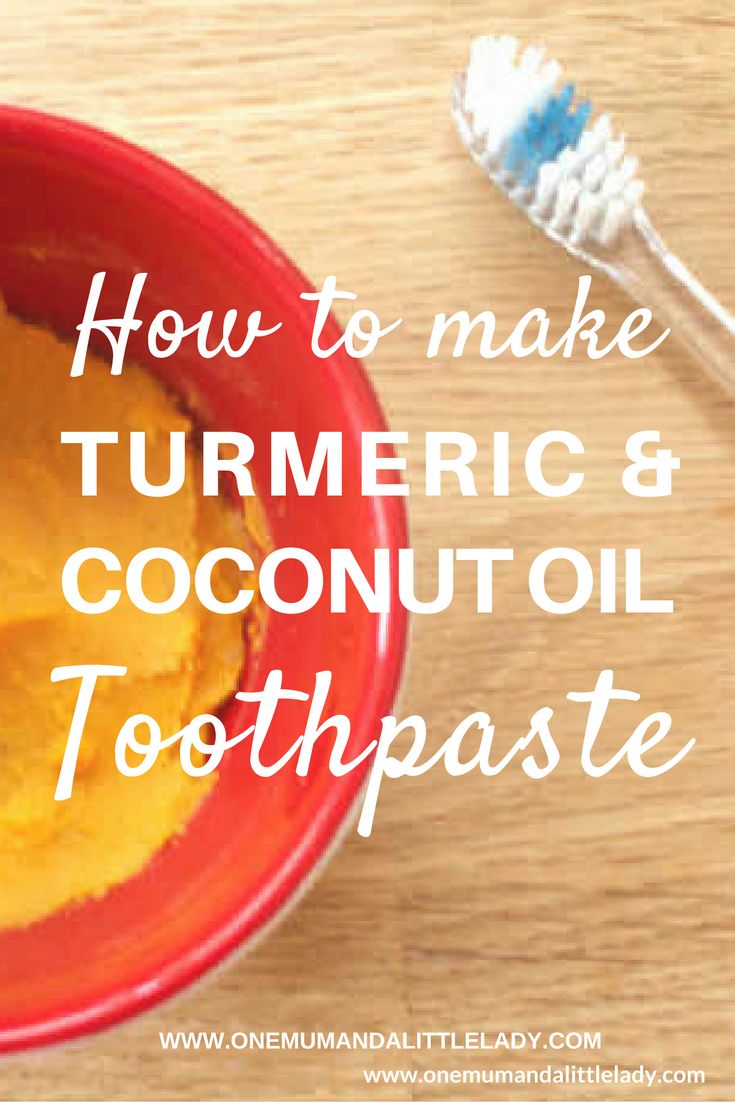Ditch the chemicals in most shop bought toothpastes and put a smile on your face with this all natural and easy to make homemade turmeric coconut oil toothpaste...