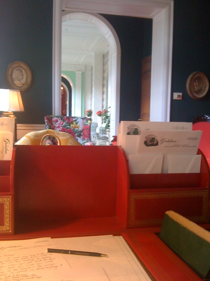 Stationary & writing room, The Greenbrier