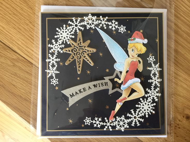 Tinker bell Christmas card