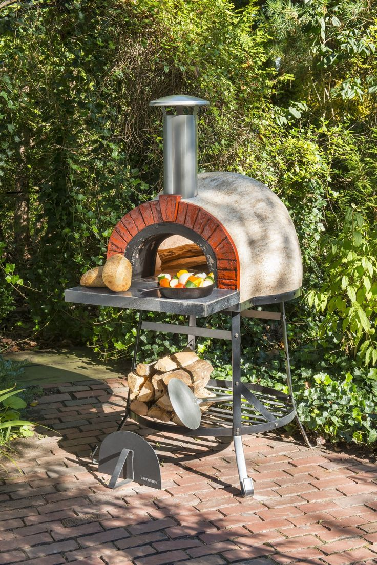 Features:  -Heats to cooking temperature in 45 minutes.  -Hot on the inside cool to the touch on the outside.  -Base Material: Other.  -Base Material Details: Masonry.  -Tabletop Fireplace: No.  -Fuel
