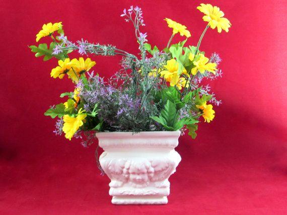 Ceramic Cherub Planter or Centerpiece - 5 inches