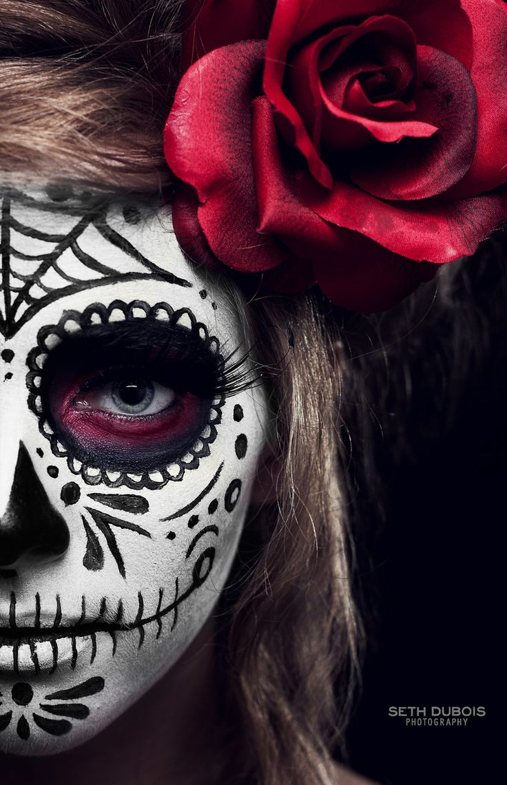 Halloween   day of the dead   catrina   Stare . Seth DuBois