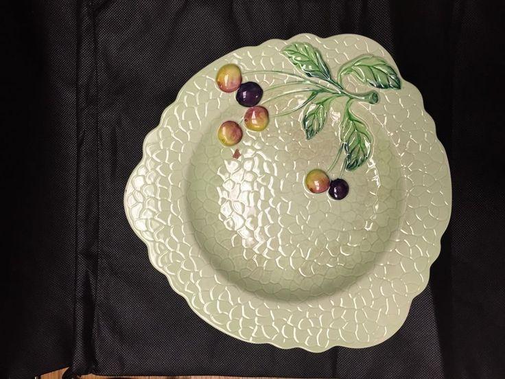 Carlton Ware Grapes Plate