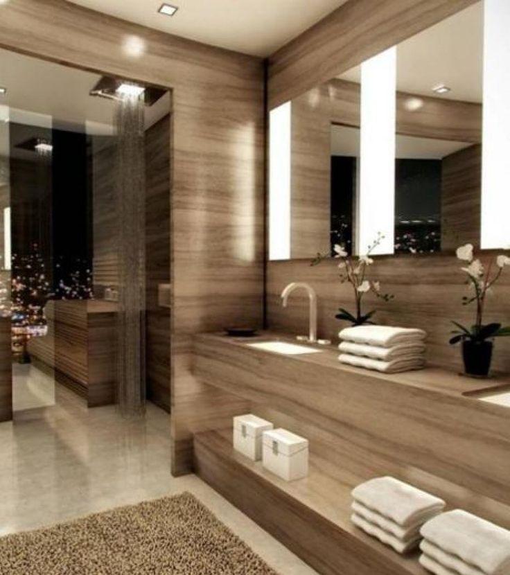 Salle de bain luxe recherche google deco pinterest for Deco salle de bain luxe