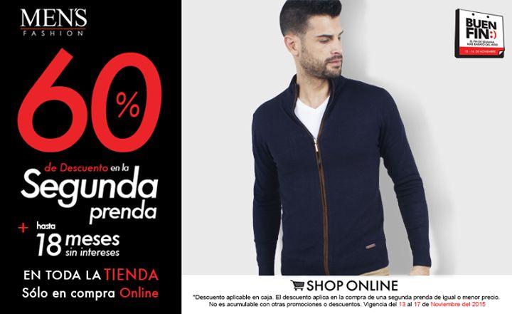 Un #suéter es ideal para esta época y será la pareja perfecta para tu atuendo. #BuenFin  Compra aquí: www.mensfashion.com.mx