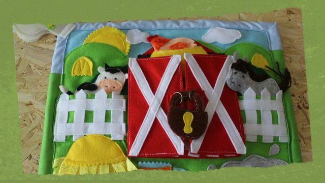 Learning and Education Toy The Farm | A Quinta  Bem vindos à nossa Quinta, :)  Na quinta podemos viver e recriar o ambiente rural que ela nos proporciona , com o celeiro dos animais, o prado do cavalo e da vaquinha, o campo com a arvore, onde a ovelhinha passeia, onde podemos encontrar vários outros animais como o burro, o coelho, o cavalo, brincar com o porquinho na lama, ver os ovos que a galinha está a chocar, usar a imaginação com os nosso animais fantoches e fazermos uma aventura na…