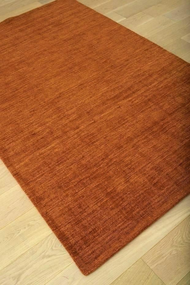 Modern Burnt Orange Rugs Pictures Luxury And Area Rug Fancy Round Newfangled