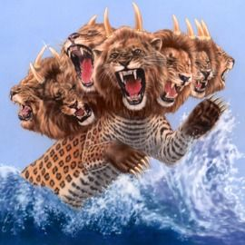 The seven-headed wild beast of Revelation 13:1 represents the worldwide political system.