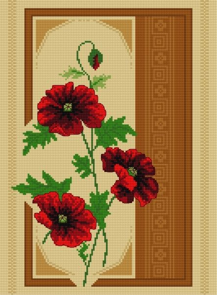 Poppies (poppy, flower, plant, boquet)