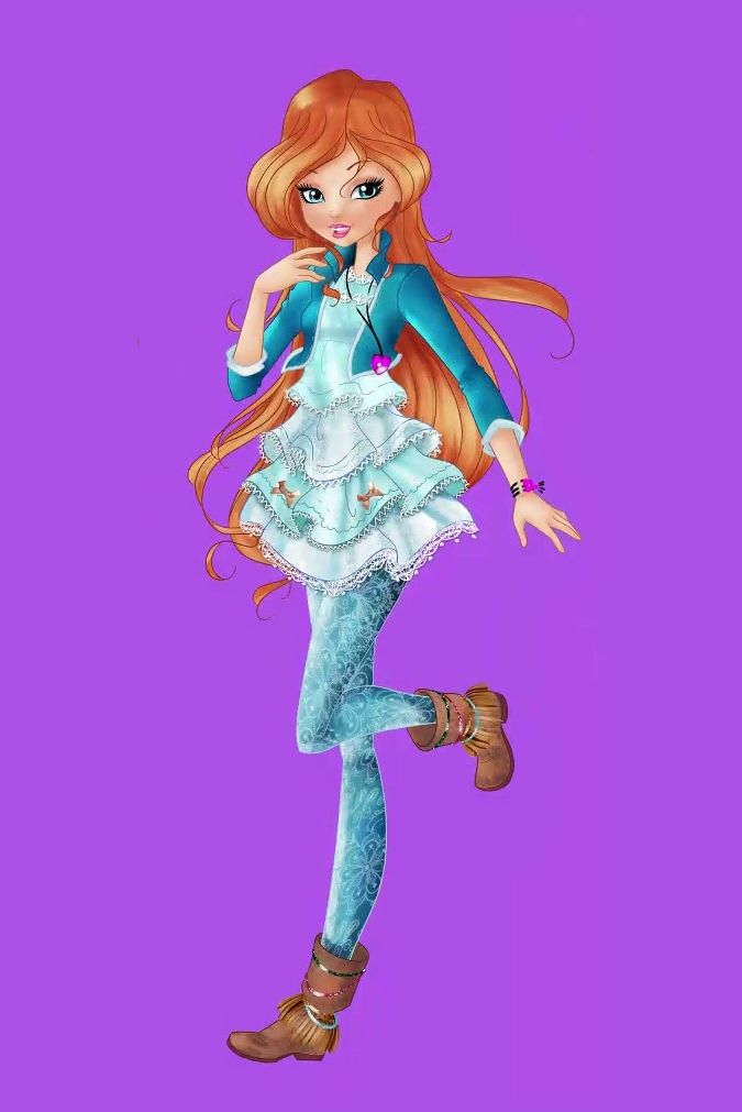 The Full Body Official Art Of All Winx Girls From Winx Club Season