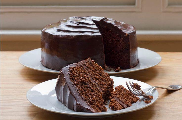 Chocolate Cake (AIP-Friendly) a really really healthy chocolate cake (think hidden banana, avocado, pumkin, etc)