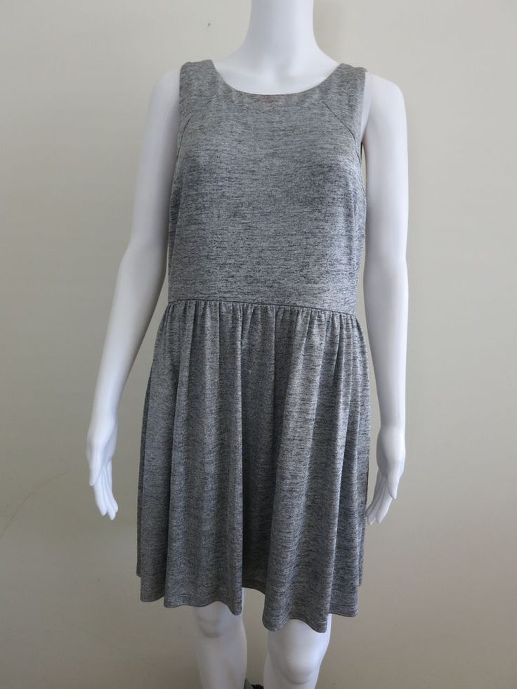 FOREVER NEW Dress Size 14 Sleeveless Grey BUY 4 or more items for FREE POST #ForeverNew #EveningOccasion