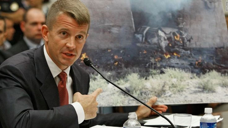 The founder of the controversial military contracting firm Blackwater, Erik Prince, and his allies lobbied contacts inside the administration to provide the CIA with a private network of intelligence contractors, according to a US official with knowledge of the proposal.
