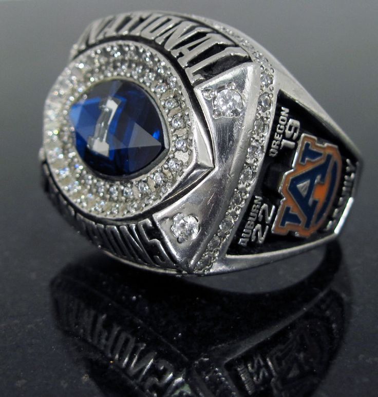 2010 AUBURN NATIONAL CHAMPIONS CHAMPIONSHIP PLAYERS RING AUTHENTIC