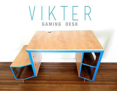 """Check out this @Behance project: """"VIKTER Gaming Desk"""" https://www.behance.net/gallery/20369487/VIKTER-Gaming-Desk"""