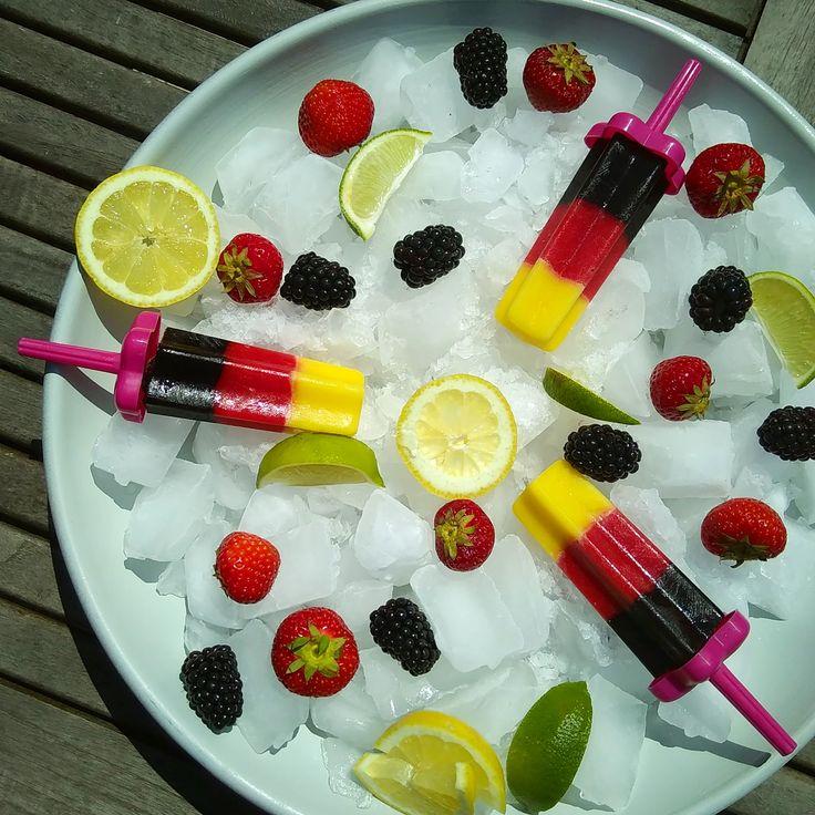Les popsicles aux fruits   ElleMixe