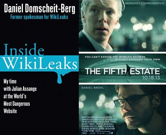 Inside WikiLeaks by Daniel Domscheit-Berg: Traces the history of the online organization WikiLeaks, which released thousands of previously secret or classified documents from numerous government agencies, and examines its impact on world politics and freedom of information.