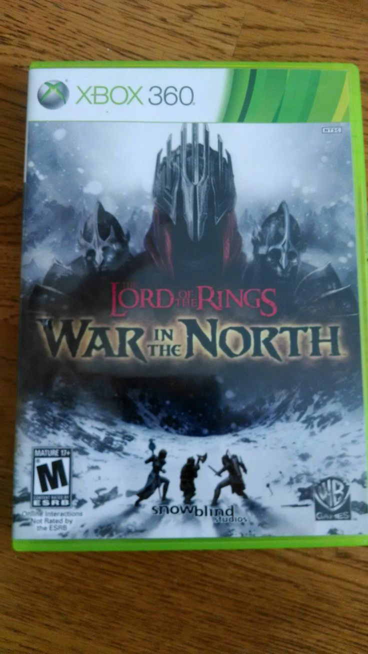 United lotr images uc1380aslb anduril jpg - Lord Of The Rings War In The North Xbox 360 Used Adult Owned Disc Xbox360