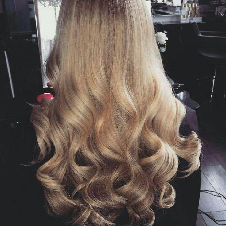 Hair Waves Blonde Natural Balayage Low Lights