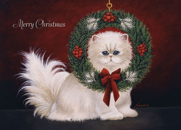 499 best :::Christmas Cats & Dogs::: images on Pinterest ...