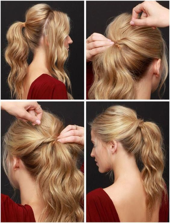 Quick Easy Hairstyles In 2 Minutes Looks Beautiful For Work Or