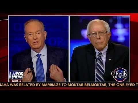 What a Mismatch: Bernie Sanders Versus Bill O'Reilly: Heavyweight vs. Lightweight
