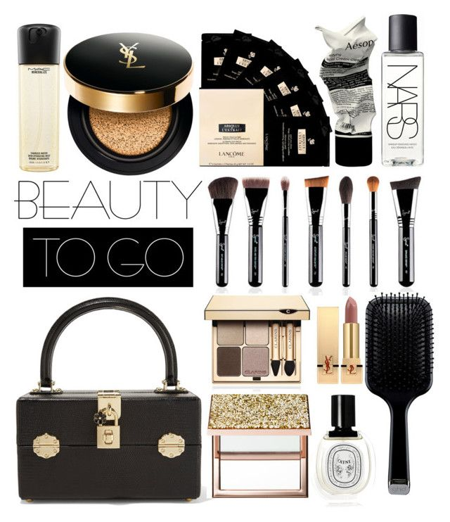 """Untitled #266"" by mydntkrl ❤ liked on Polyvore featuring beauty, Dolce&Gabbana, Sephora Collection, Aesop, NARS Cosmetics, GHD, Lancôme, Clarins, Diptyque and Yves Saint Laurent"