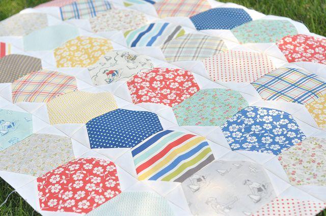 Seaside Chevron Tutorial by A Crafty Fox: Quilting Patterns, Quilts Tutorial, Hexachevragon