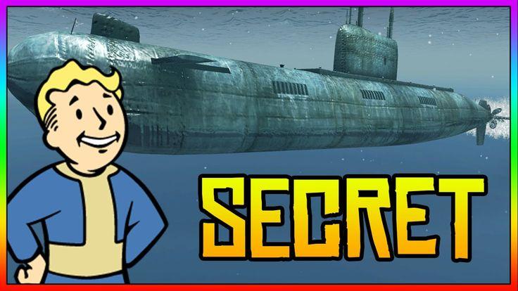 Fallout 4: INSANE SECRET WAR SUBMARINE! (Fallout 4 Secret Locations)