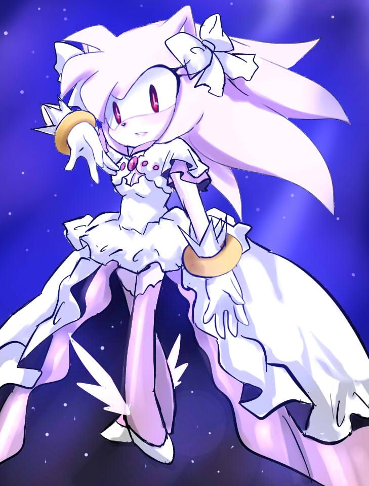Ultimate+Super+Amy+by+GaruGiroSonicShadow.deviantart.com+on+@deviantART. I would be so okay with this if it was actually a super forme for Amy •_•