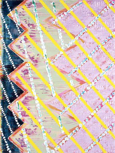 Kazumi Nakamura : Scroll Painting 17: Ippen Hijiri-e, 2014 Acrylic on cotton canvas 2590 x 1944 mm Kaikai Kiki Gallery