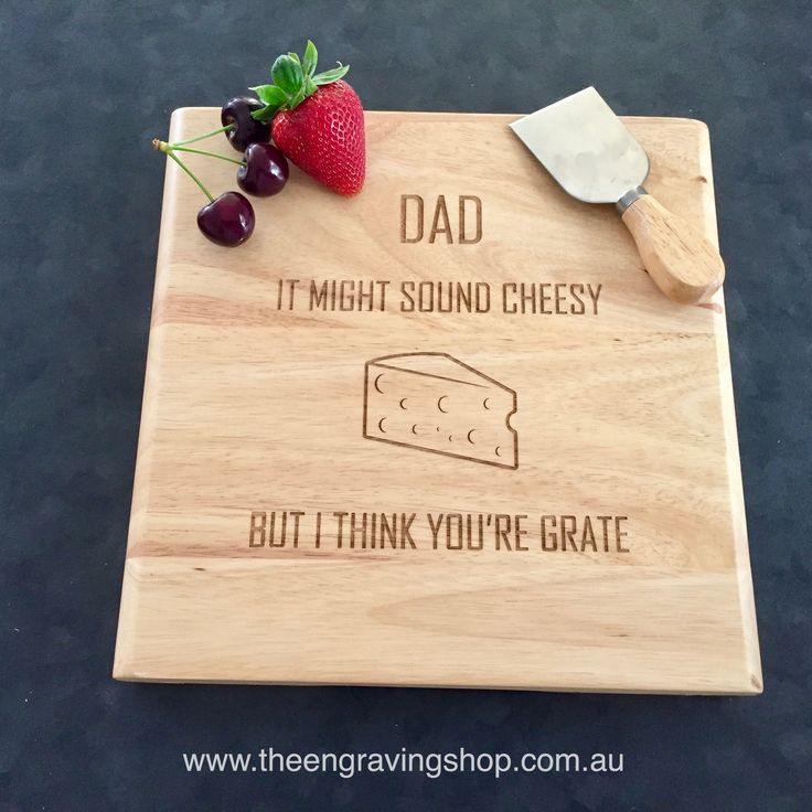 Personalised Wooden Cheese Board Set with Knives