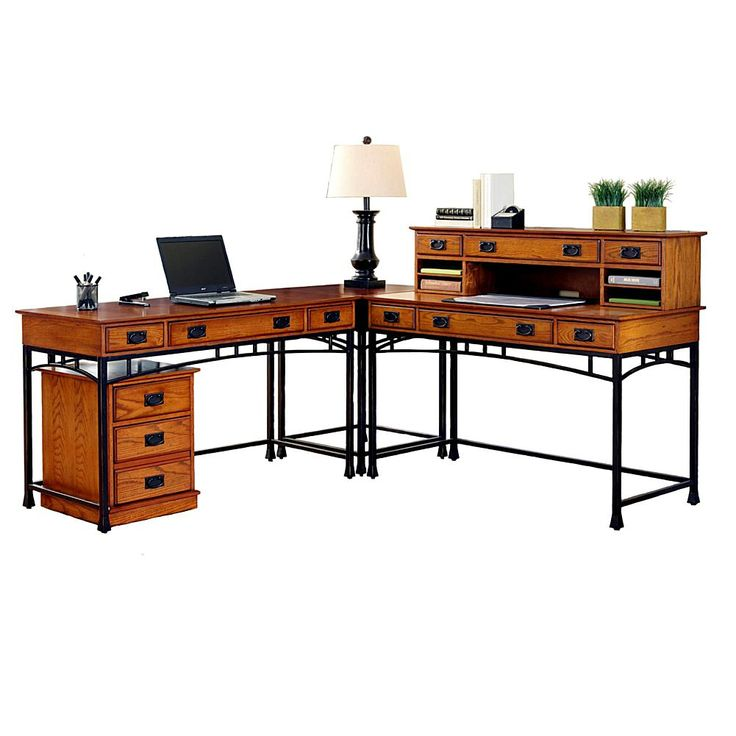 Home Marketplace Home Styles Modern Craftsman L Desk and File