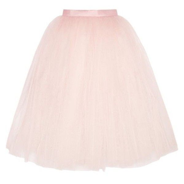 Ballet Beautiful Tulle skirt ❤ liked on Polyvore featuring skirts