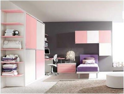 1000 images about my room on pinterest pink walls for Habitaciones juveniles modernas